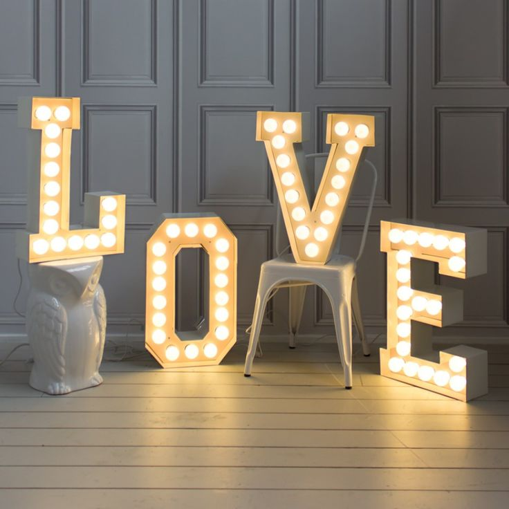 Love Letters for Wedding reception